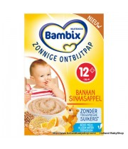 Bambix Sunny Breakfast Porridge seven grain banana-oranges 250g