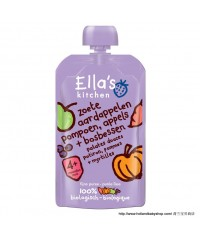 Ella's Kitchen 4+ Sweet potato, Pumpkin, Apple, Blueberry  100g