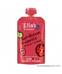 Ella's Kitchen 4+  Strawberry / Apple  100g