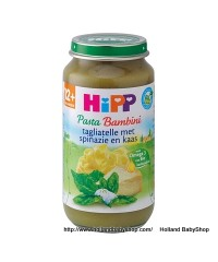 Hipp Organic Tagliatelle spinach and cheese from 12 months 250g