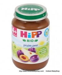 Hipp Organic Fruit Plum and pear from 4 months 190g