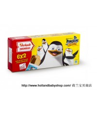 Verkade Chocolate cookies Penguins of Madagascar