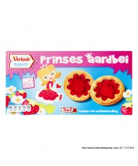Verkade Strawberry cookies Princess 145 g