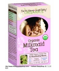 Earth Mama Angel Baby Organic Milkmaid Tea - Breast feeding  16 x