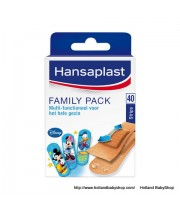 Hansaplast Elastic plaster Family pack assorted 40 pieces