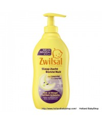 Zwitsal Lavendal Sleep Soft bath and washing gel  400ml