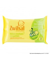 Zwitsal Lotion Wipes 72pcs