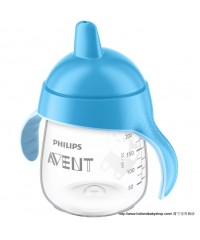 Philips Avent penguin Cup with Spout - Blue (260ml)
