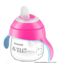 Philips Avent penguin Cup with Spout - Pink (200ml)