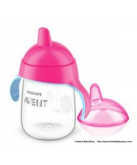 Philips Avent penguin Cup with Spout - Pink (340ml)