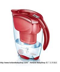 BRITA Elemaris red passion 2.4 L + 1 filter cartridge
