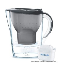 BRITA Marella Cool Graphite 2.4 L + 1 filter cartridge