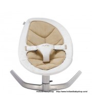Nuna Leaf Bouncer Bisque