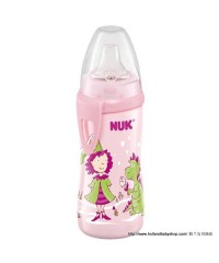 NUK Active Cup with clip and spout 300 ml Rose