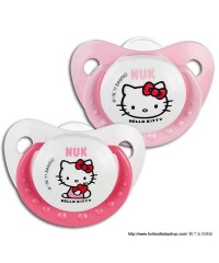 NUK Orthodontic Pacifier Hello Kitty (2 pieces)