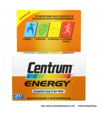 Centrum Energy complete a-zink  30 pcs