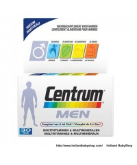 Centrum Men complete multivitamins & minerals  30 pcs