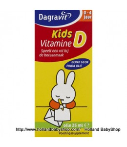 Dagravit Kids Vitamin D Drops Oil 25ml