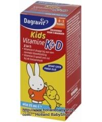 Dagravit Kids Vitamin K + D Drops 25ml