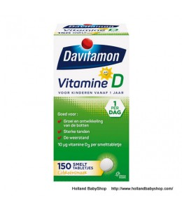 Davitamon Vitamin D Melt Tablets For Children 150 Pc