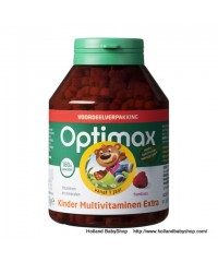 Optimax Children Multi Extra chewable tablets Raspberry flavor  180 pieces