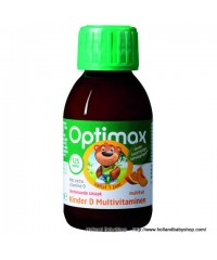 Optimax Children Multi-Vitamins D & Minerals Liquid 125 ml