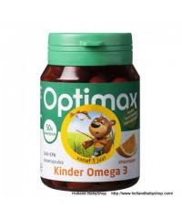 Optimax Children Omega 3 Fish oil chewable capsules  50 pieces