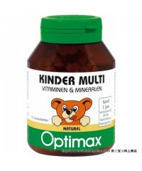 Optimax Children Multi Extra chewable tablets Natural flavor 100 pieces