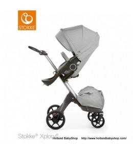 Stokke® Xplory® V5 Stroller Black
