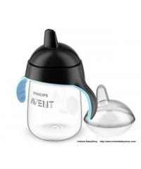 Philips Avent penguin Cup with Spout - Black (340ml)