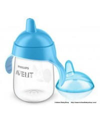 Philips Avent penguin Cup with Spout - Blue (340ml)